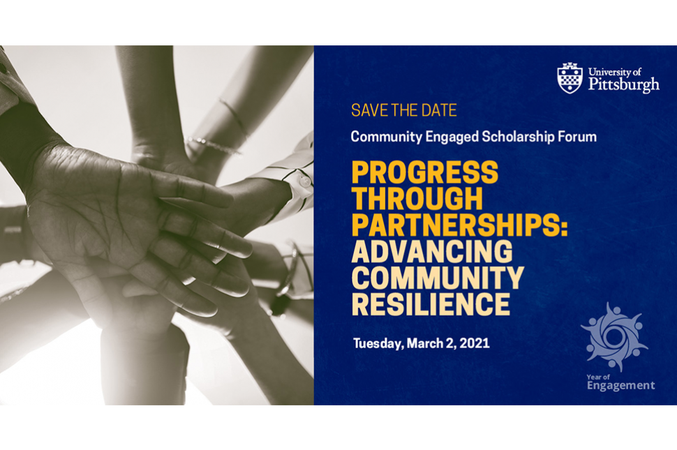 Save the Date Community Engaged Scholarship Forum March 2, 2021