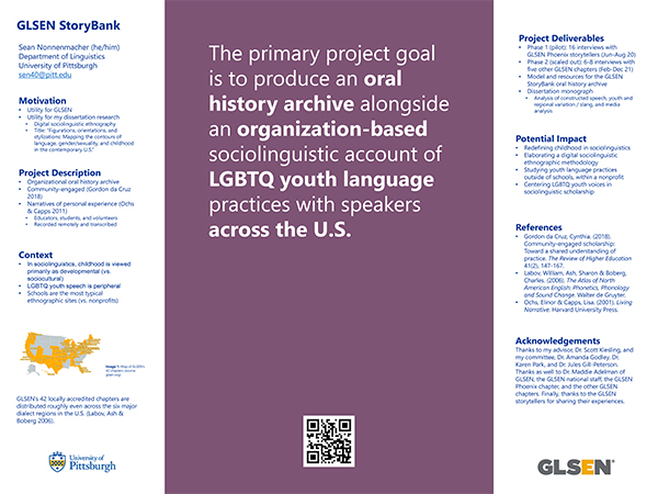Gay, Lesbian & Straight Education Network poster